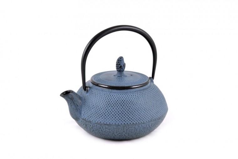 Teekanne Gusseisen Arare 0,9L (himmelblau)