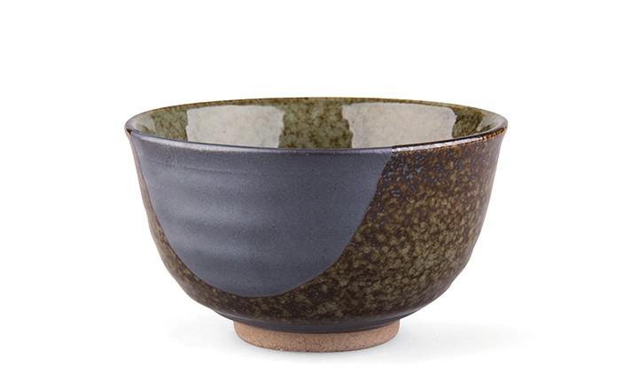 Braune Tee-Schale 200ml - dunkel