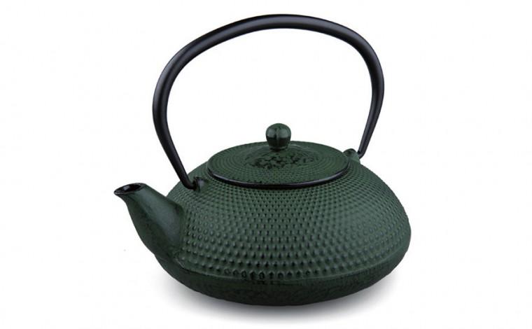 Teekanne Gusseisen Arare 1,0L (grün)