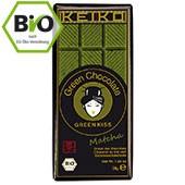 Bio Matcha Schokolade KEIKO Green Kiss