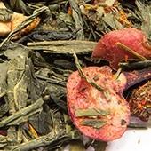 Gelber Tee 'Granatapfel-Cranberry'