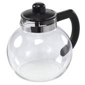 Glass Teekanne 'Malm' 1,5L schwarz