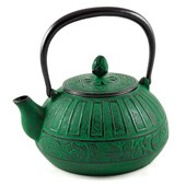 MAOCI Gusseisen-Teekanne Chisaka (grün) - 1,5L - Vorschau