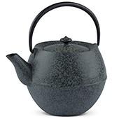 MAOCI Gusseisen-Teekanne Kama (sprayed, schwarz) - 1,0L - Vorschau