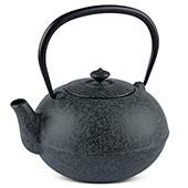 MAOCI Gusseisen-Teekanne Kano (sprayed, schwarz) - 0,8L - Vorschau