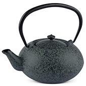 MAOCI Gusseisen-Teekanne Komo (sprayed, schwarz) - 1,0L - Vorschau
