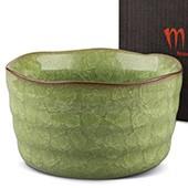 Matcha-Schale 400ml hellgrün mit Verpackung