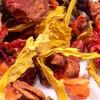 Früchtetee 'Himbeer-Pfirsich'