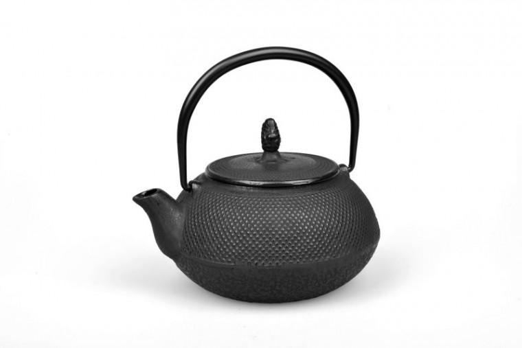Teekanne Gusseisen Arare 0,9L (schwarz)