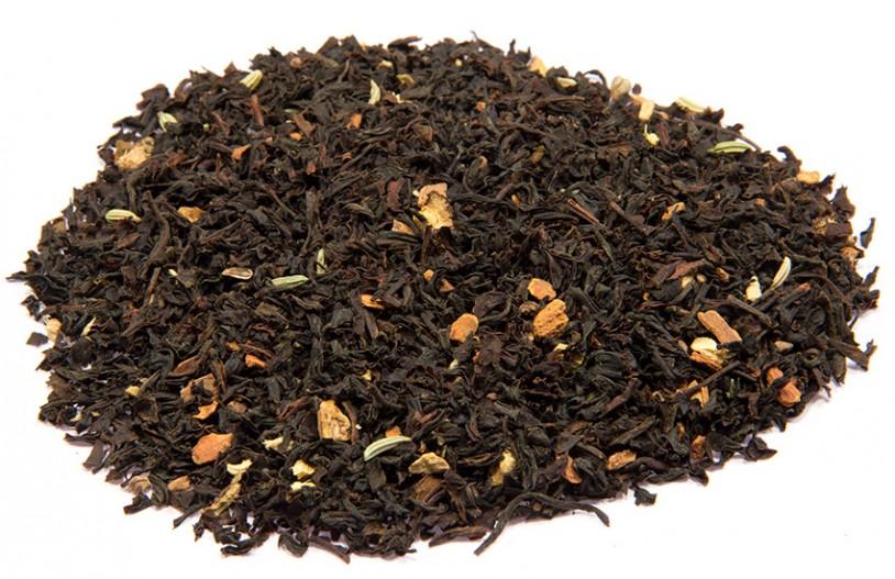 Bio Schwarztee Chai, aromatisiert
