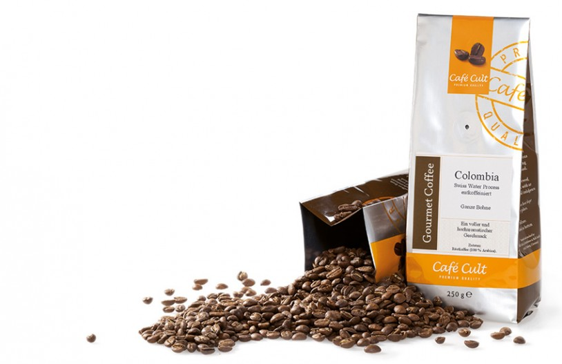 Café Cult Colombia Swiss Water Process, entkoffeiniert