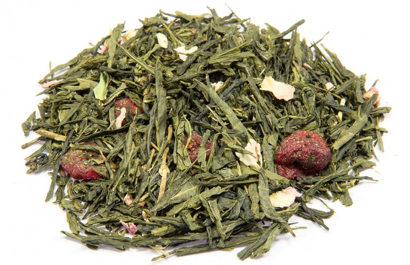 Bio Sencha Cranberry-Orange (Grüner Tee)