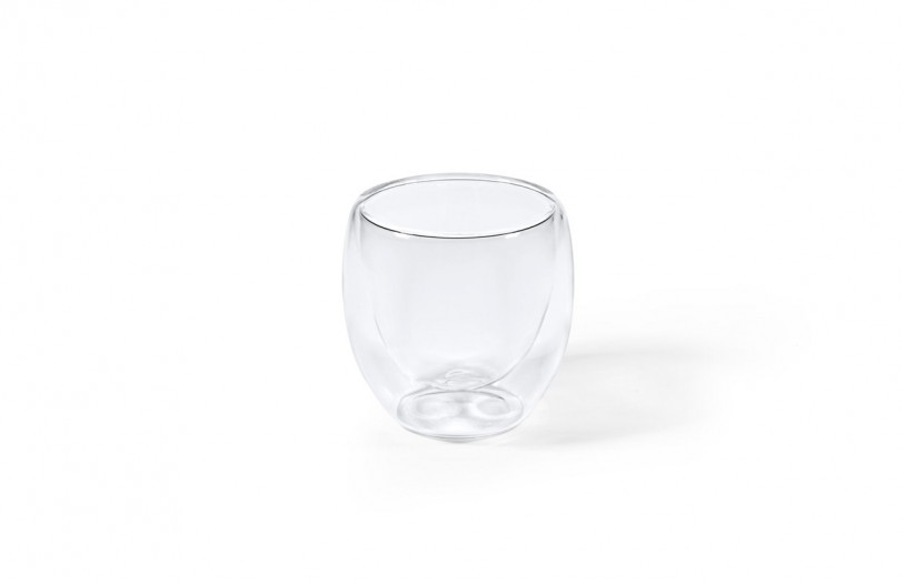 Doppelwandiges Glas - 80ml