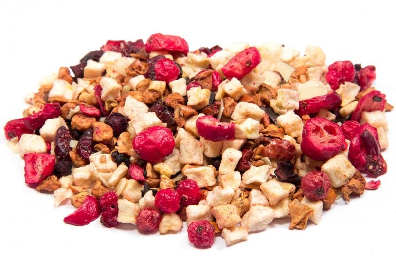 Früchtetee 'Beeren-Mandel Crumble'