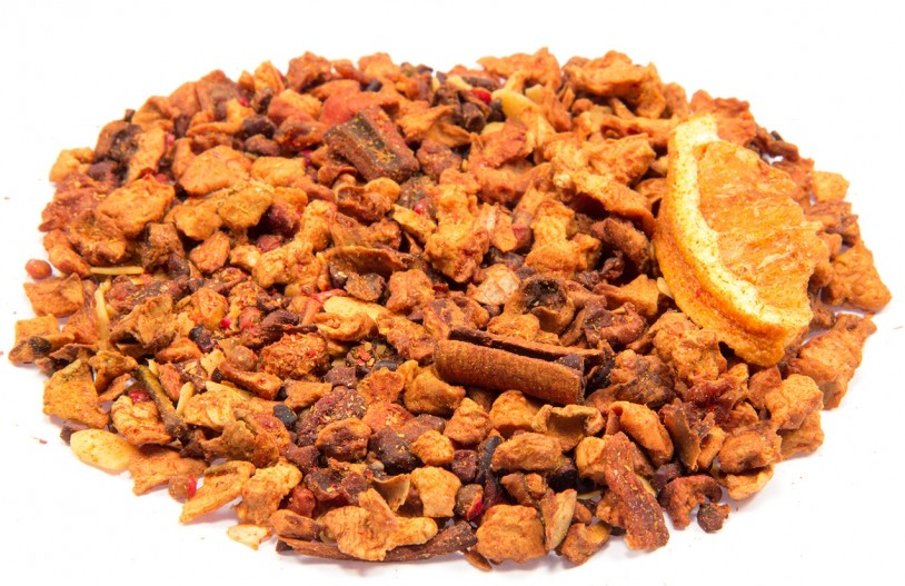 Früchtetee Fruchtengel (Orange-Marzipan-Schoko-Note)