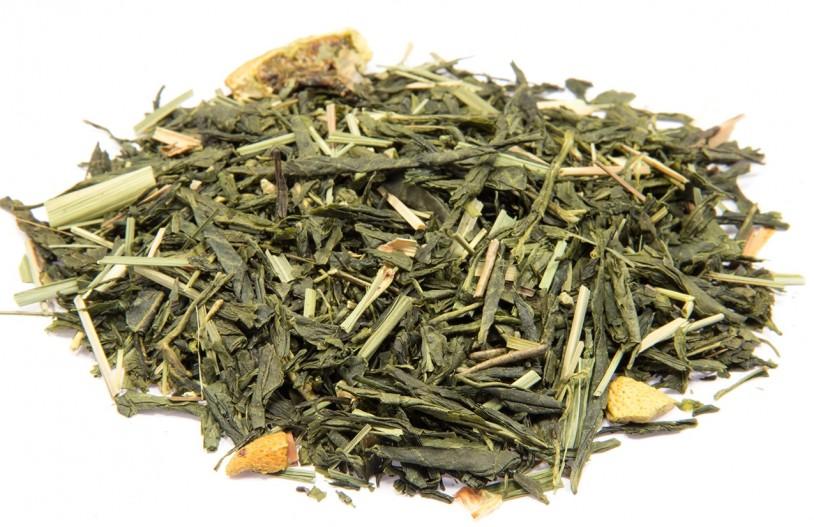 Gelber Tee 'Zitrone-Ingwer'