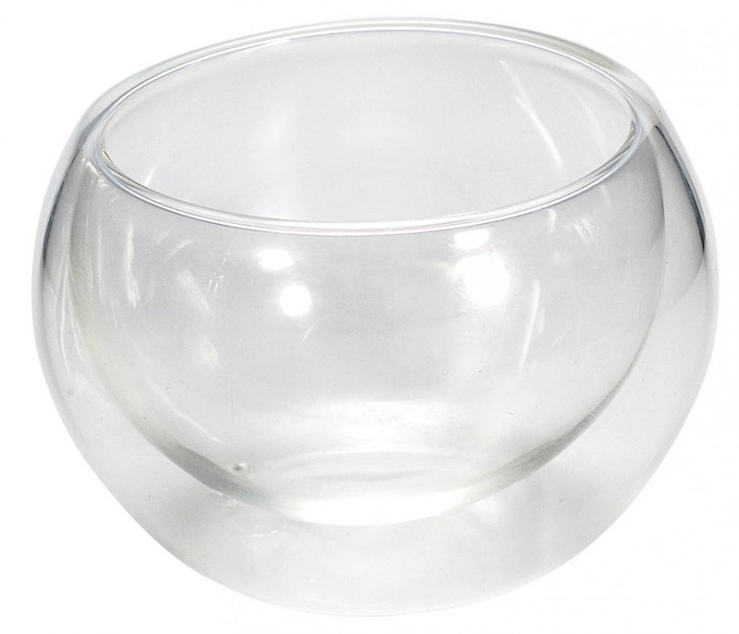 Glas Cup 'Li 50' doppelwandig 50ml