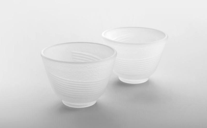 Glas Teacups Tsuki von MAOCI