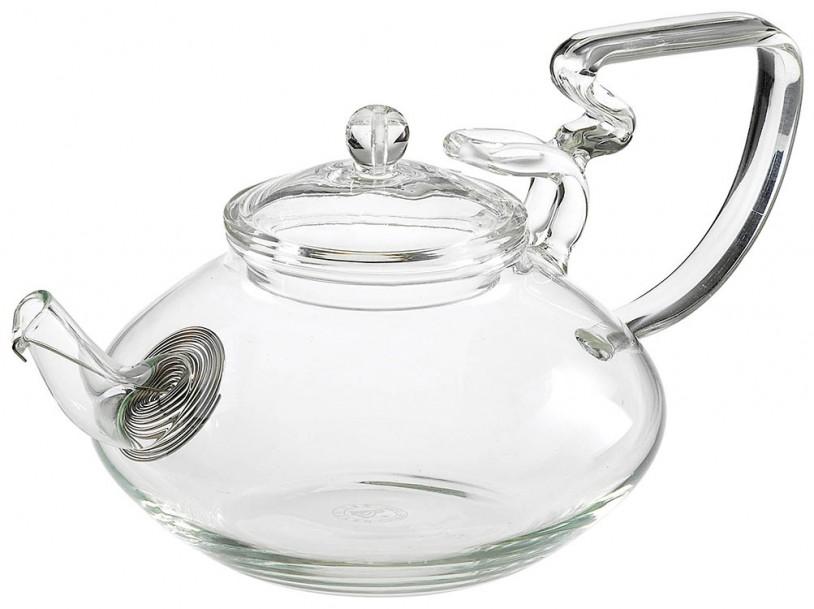Glas Teekanne 'Jen' 500ml mit Tüllensieb