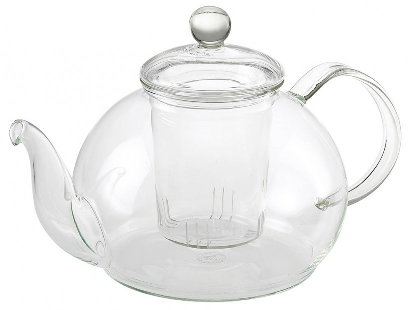 Glas Teekanne 'Lu' 1,2L mit Glassieb