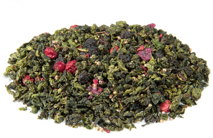 Oolong 'Grün-Rote Perlen'