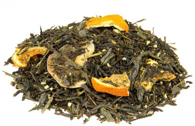 Grüntee 'Mandarinenwölkchen'