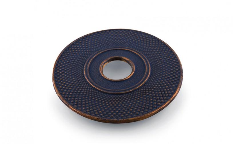 MAOCI Gusseisen Untersetzer Denxi 14 (nachtblau-gold), Ø 14cm