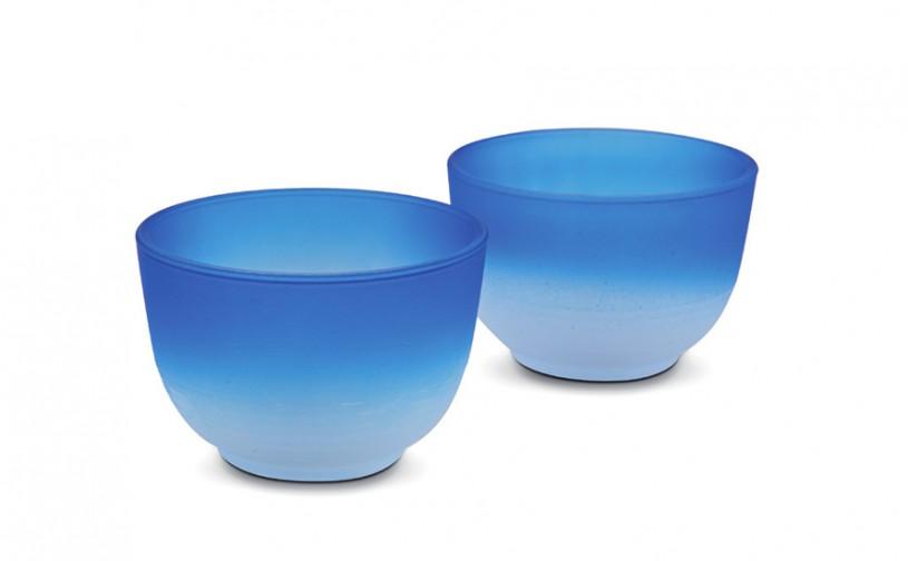 Glas Teacups Iruma blau von MAOCI
