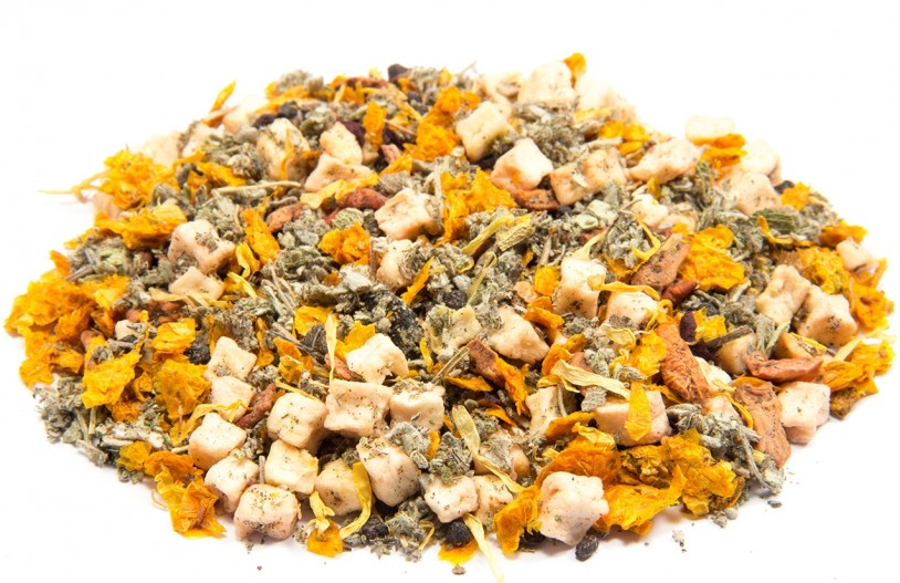 Kräutertee 'Salbei-Honig-Holunderblüte'