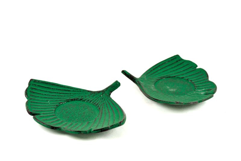 MAOCI Gusseisen Cup-Untersetzer Fuju (grün), 2 Stück
