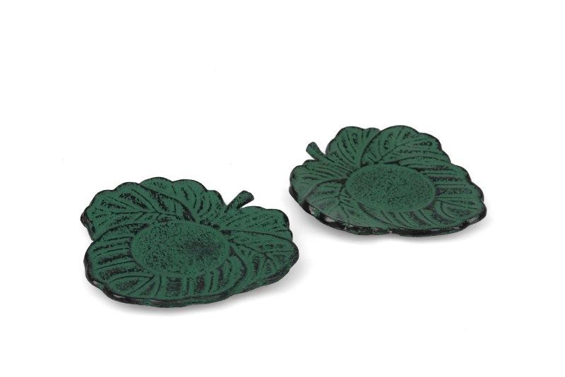 MAOCI Gusseisen Cup-Untersetzer Kitami (grün), 2 Stück
