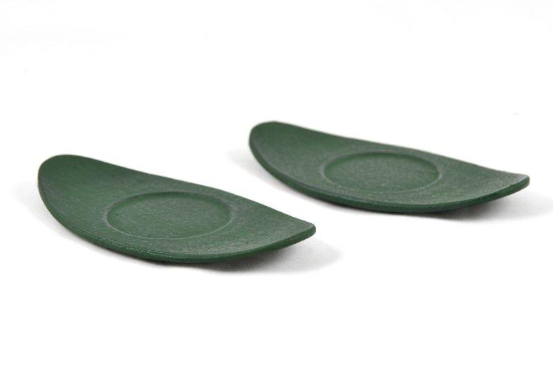 MAOCI Gusseisen Cup-Untersetzer Kobe (grün), 2 Stück