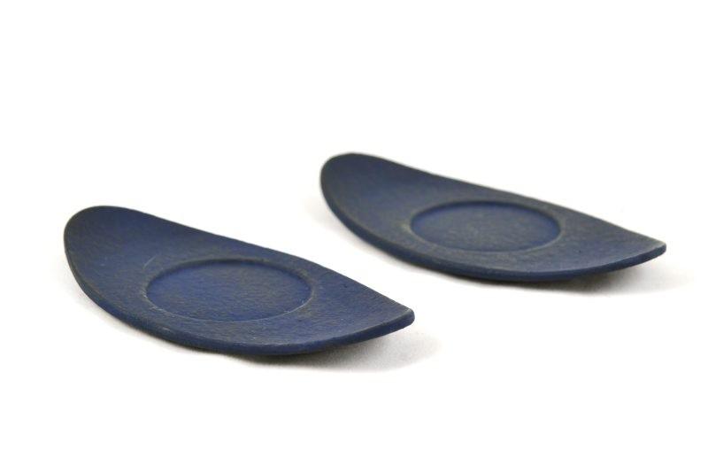 MAOCI Gusseisen Cup-Untersetzer Kobe (nachtblau), 2 Stück