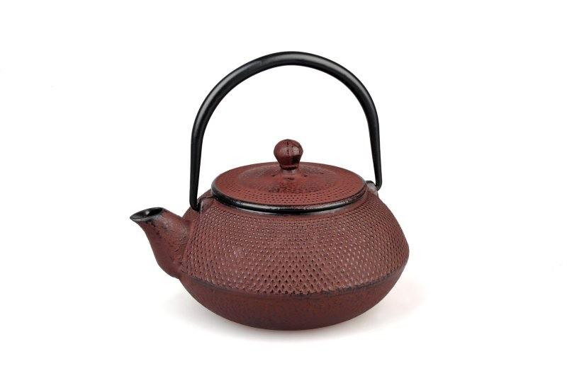 Teekanne Gusseisen Arare 0,7L (weinrot)