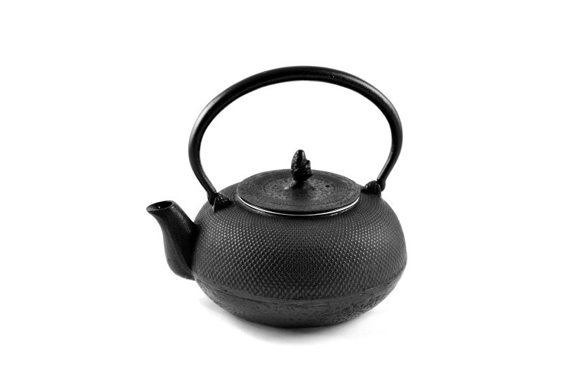 MAOCI Gusseisen-Teekanne Arare 14 (schwarz) - 1,4L