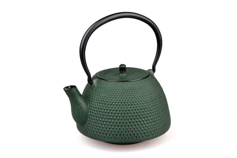 MAOCI Gusseisen-Teekanne Arare Modern (grün) - 1,2L