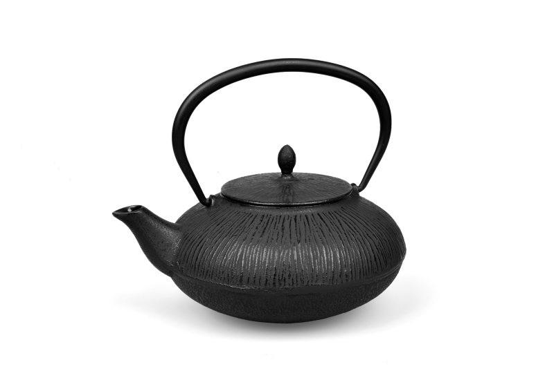 MAOCI Gusseisen-Teekanne Dalian (schwarz) - 0,75L