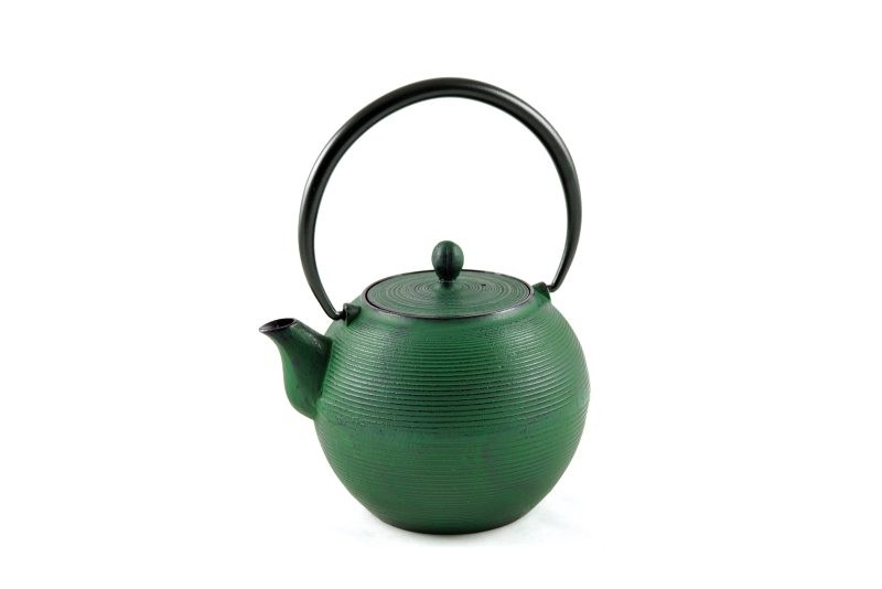 MAOCI Gusseisen-Teekanne Iruma (grün) - 1,0L