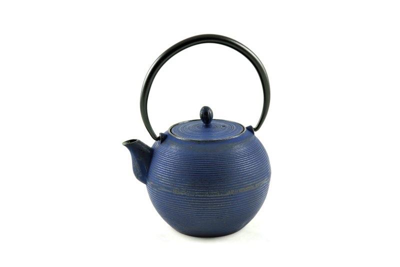 MAOCI Gusseisen-Teekanne Iruma (nachtblau) - 1,0L