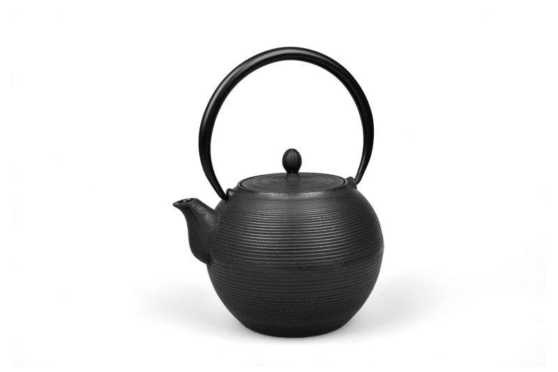 MAOCI Gusseisen-Teekanne Iruma (schwarz) - 1,0L