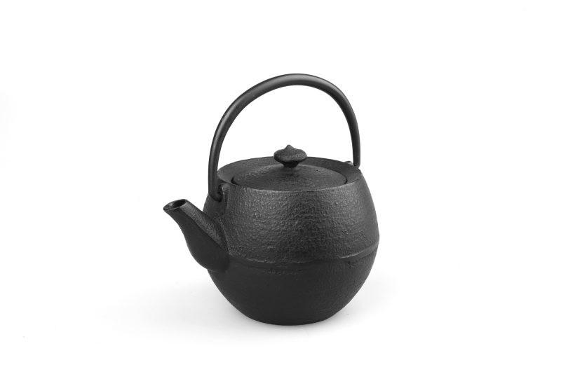 MAOCI Gusseisen-Teekanne Kama klein (schwarz) - 0,4L