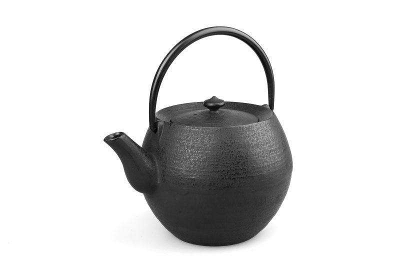 MAOCI Gusseisen-Teekanne Kama 10 (schwarz) - 1,0L