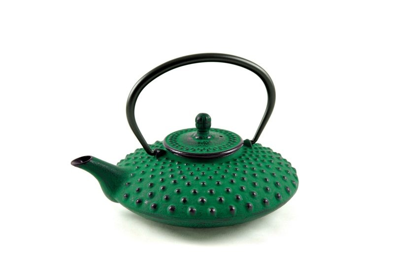 MAOCI Gusseisen-Teekanne Kambin (grün) - 0,8L