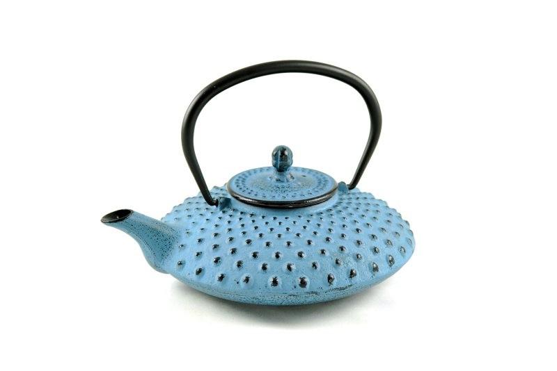 MAOCI Gusseisen-Teekanne Kambin (himmelblau) - 0,8L