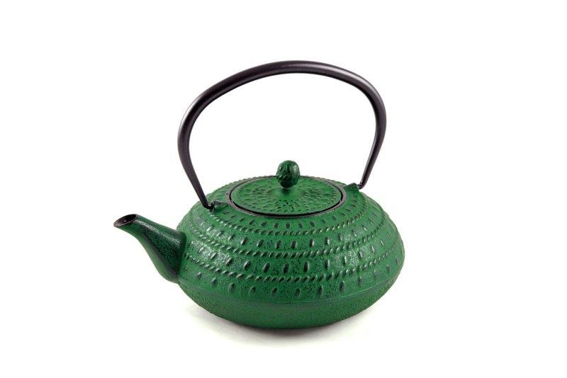 MAOCI Gusseisen-Teekanne Macau (grün) - 1,2L