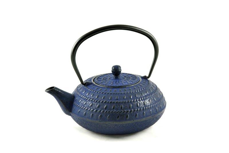 MAOCI Gusseisen-Teekanne Macau (nachtblau) - 1,2L