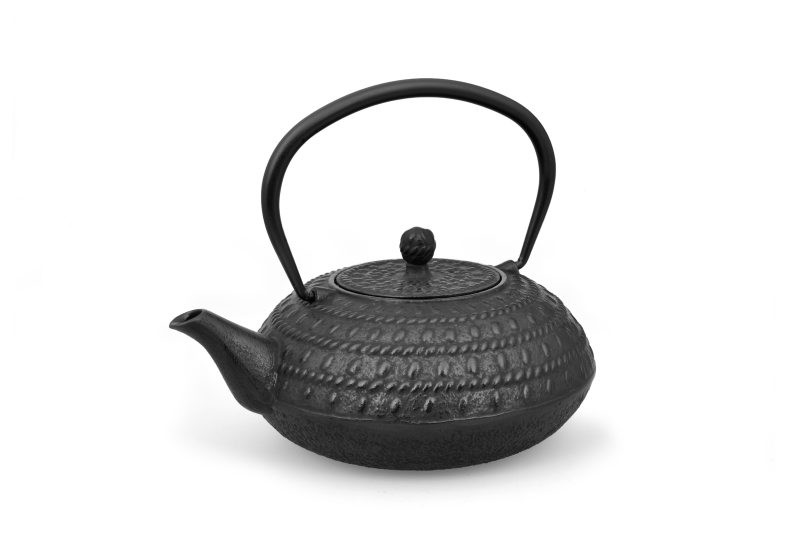 MAOCI Gusseisen-Teekanne Macau (schwarz) - 1,2L