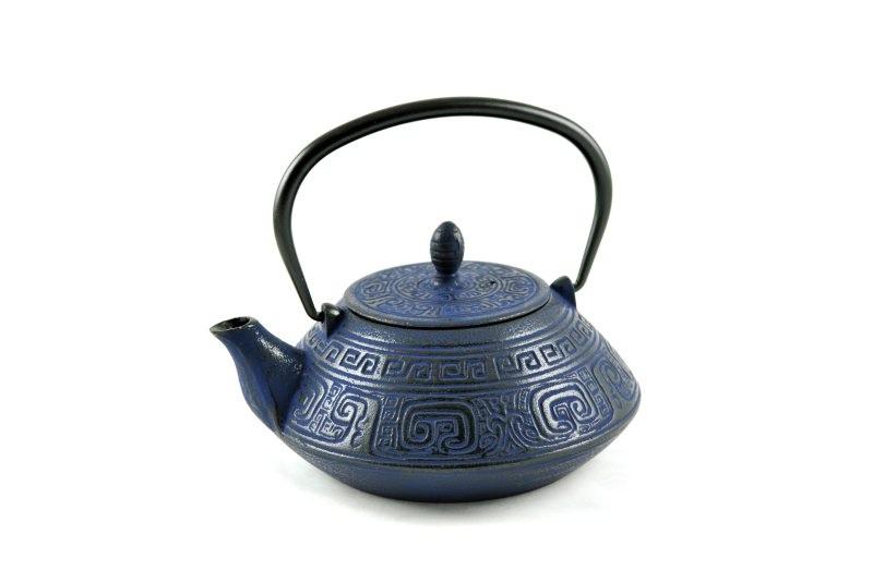 MAOCI Gusseisen-Teekanne Nayang (nachtblau) - 1,2L