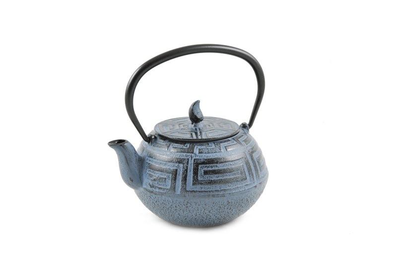 MAOCI Gusseisen-Teekanne Saga (himmelblau) - 0,75L