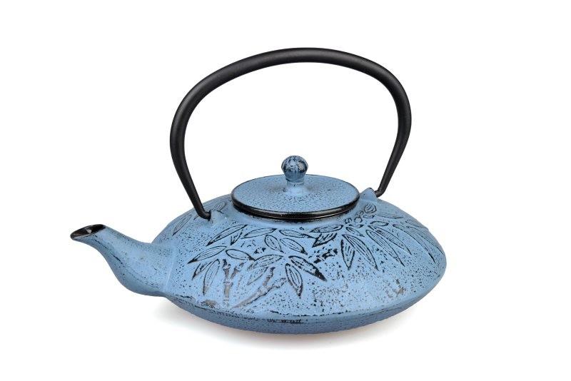 MAOCI Gusseisen-Teekanne Sakai (himmelblau) - 1,2L